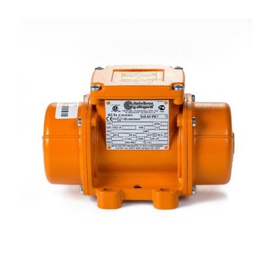 Motovibrador eléctrico MSVI 15/400v S02 con patas, 1500 rpm, tensión 230/400v