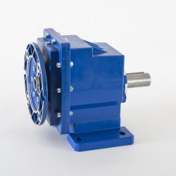 Reductor coaxial ZMCRZ 01 Rel. 1/3.82, patas equiv. Motovario, eje salida Ø20, PAM 120-19, para motor tamaño 80 B14 no incl.