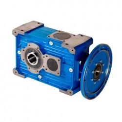 Reductor ortogonal RXO1/720/C Rel.1/24.6 con rodamiento antirretorno, eje salida Ø65, PAM 350-42, para motor tamaño 160 B5 no incl.