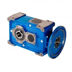 Reductor ortogonal RXO1/720/C Rel.1/24.6, eje salida Ø65, PAM 350-42, para motor tamaño 160 B5 (motor no incluido)