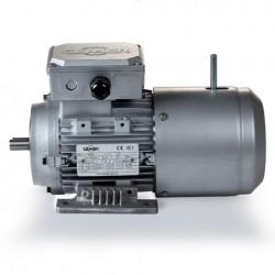 Motor eléctrico trifásico con freno B3, 1500 rpm, 220/380V, tamaño 80, 0.75kW/1CV, IP54, IE1, tensión freno 220/380V (ca)
