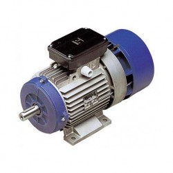 Motor eléctrico trifásico con freno 132B3 (ØEje motor 38 mm), 1500 rpm, 380/660V, 11kW/15CV, IP54 IE1, tensión freno 103V (cc)