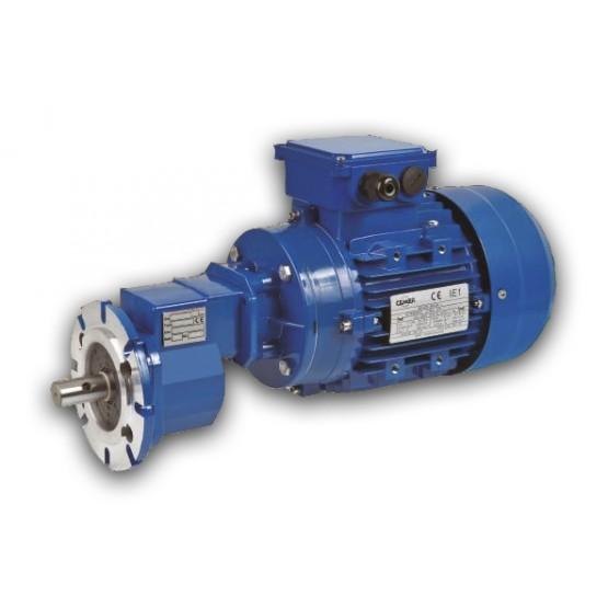 Motoreductor para Granja CHH-02-S80 de 0.55kw/0.75CV motor 1380 rpm, reductor 356 rpm, Reducción 1/3,93