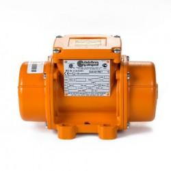 Motovibrador eléctrico trifásico MVSI 3/200 S02 con patas, 0.18 kW, 3000 rpm, tensión 230/400v, IP66