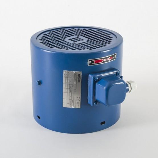 Ventilación forzada para motor eléctrico de tamaño 100