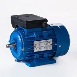 Motor eléctrico monofásico con condensador permanente 0.75kw/1CV, 3000 rpm, 80B3 (ØEje motor 19 mm) 220V, IP55, IE1