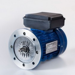 Motor eléctrico monofásico alto par de arranque 0.18kw/0.25CV, 220V, 1500 rpm, 63B5 (ØEje motor 11 mm, ØBrida 140 mm) 220V, IP55, IE1
