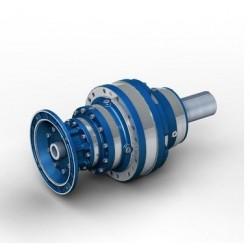 Reductor planetario EX 101 RN1 (brida) Rel.1/4.3, eje salida Ø38, PAM 250-28, para motor tamaño 100 B5, M1 (motor no incluido)